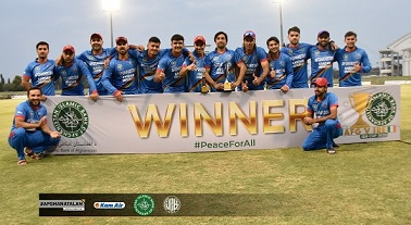 Afghanistan Wins the T20I Series Against Ireland